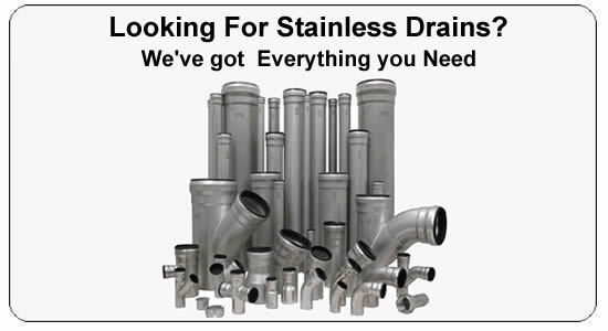 Featuring Stainless Floor Drains  sc 1 th 166 & Stainless Drain Supply - Stainless Steel Push-Fit Pipes and Pipe ...