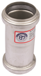 "BLUCHER Stainless Steel 1 1/2"" Double Slip Coupling 316L"