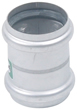 "BLUCHER Stainless Steel 2"" Double Slip Coupling 316L"