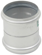 "BLUCHER Stainless Steel 3"" Double Slip Coupling 316L"