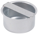 "BLUCHER Stainless Steel 3"" Push-In Socket Plug 316L"