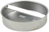 "BLUCHER Stainless Steel 8"" Push-In Socket Plug 316L"