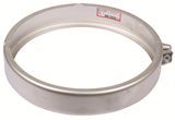 "BLUCHER Stainless Steel 10"" Joint Clamp 316L"