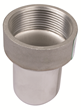 "BLUCHER Stainless Steel 1 1/2"" Female Adapter 316L"