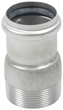 "BLUCHER Stainless Steel 2"" Male Adapter 316L"