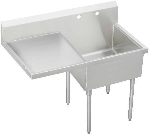 WICKETTS WCS 4100 L Stainless Steel Commercial Sink